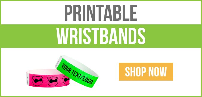photograph about Printable Wristbands titled Printable Wristbands