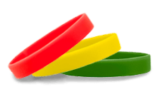 Stock Silicone Wristbands